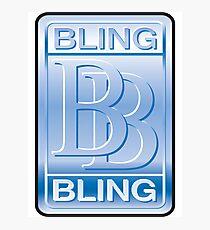 Bling Bling Photographic Print
