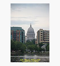 Madison Wisconsin the Capitol Building Photographic Print