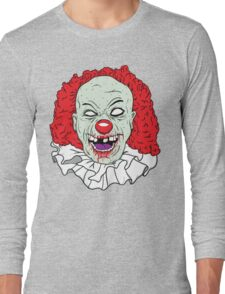 Zombie clown Long Sleeve T-Shirt
