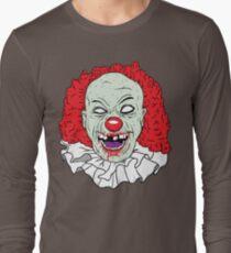 Zombie clown Long Sleeve T-Shirt