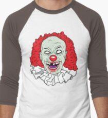 Zombie clown Men's Baseball ¾ T-Shirt