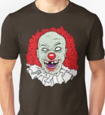 Zombie clown Unisex T-Shirt