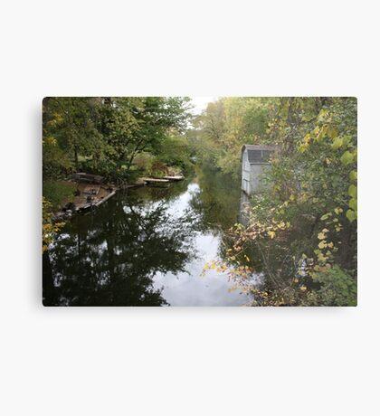 Oconomowoc Riverscape Metal Print