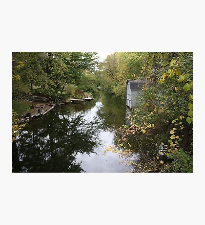 Oconomowoc Riverscape Photographic Print