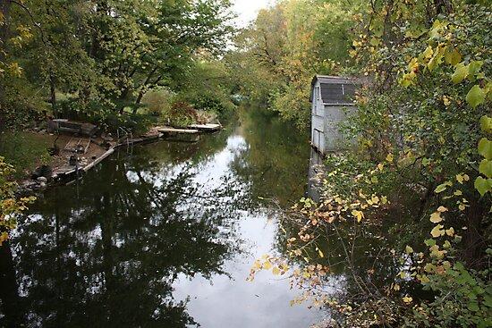 Oconomowoc Riverscape by Thomas Murphy