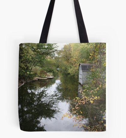 Oconomowoc Riverscape Tote Bag