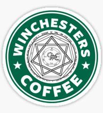 Winchesters Coffee Sticker