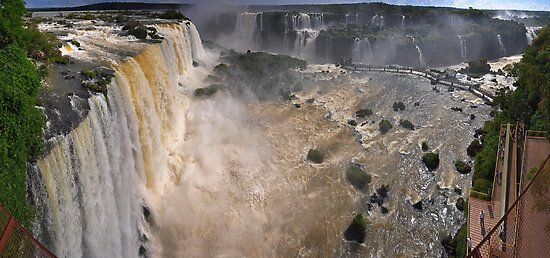 Iguazu Overview by Peter Hammer