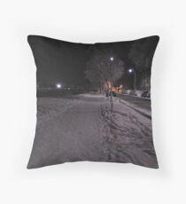 Taff Mead Enbankment Throw Pillow