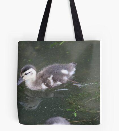 Ducklings on Lake Monona Tote Bag