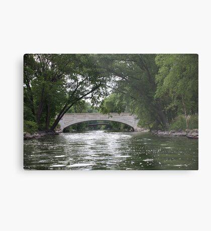 The Yahara River Metal Print