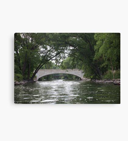 The Yahara River Canvas Print