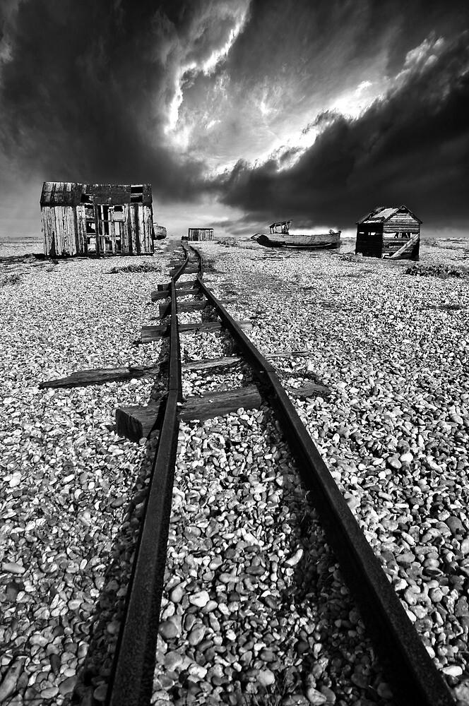 rails to the horizon by meirionmatthias