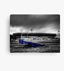 Murrayfield Stadium, Edinburgh, Scotland Selective Colouring Canvas Print