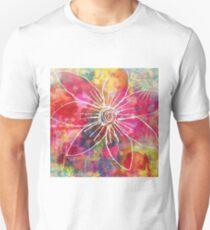 Big Pink Flower Unisex T-Shirt