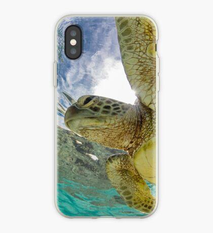Hopeful turtle iPhone Case