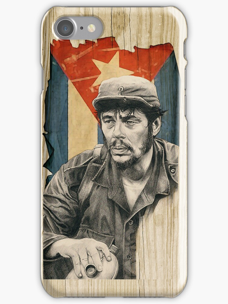 Benicio Del Toro as Ernesto 'Che' Guevara by illadelphsouL