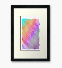 Color Splash Framed Print