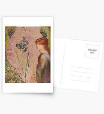 Blue Iris Postcards