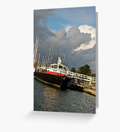 Tuggie Clouds Greeting Card