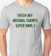 Green Bay: Original Champs T-Shirt