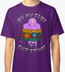 Lumpy Space Princess - Oh My Glob It's Christmas Classic T-Shirt