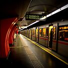 The Viennese Metro by rsangsterkelly