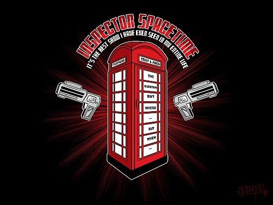 Inspector Spacetime by weRsNs