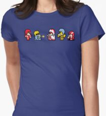 Final Fantasy Football Womens Fitted T-Shirt