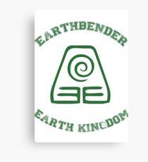 earth bender Canvas Print