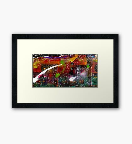Once Upon A Snowy Night Framed Print