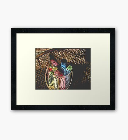 Chalk Framed Print