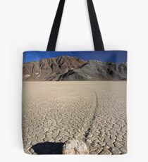 Race track, Death valley national park Tote Bag
