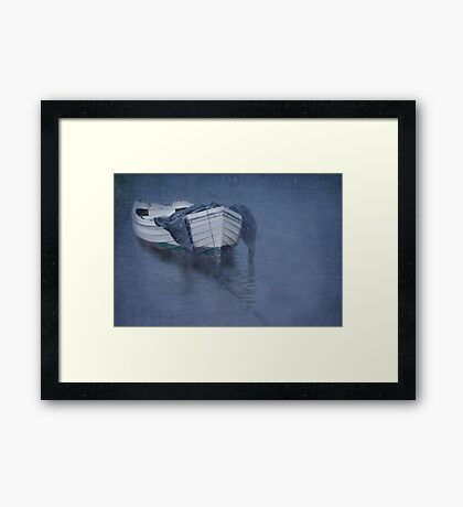 Teign Blues Framed Print