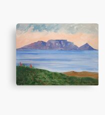 Table Mountain South Africa Canvas Print