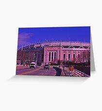 Yankee Stadium, The Bronx- New York, New York Greeting Card