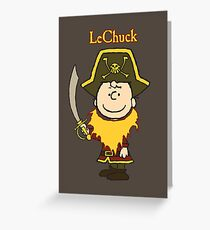LeChuck Greeting Card