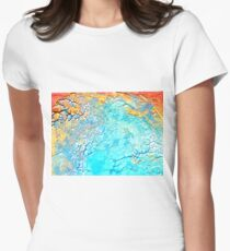 Coral Matters  Womens Fitted T-Shirt