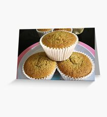 Lemon Cup Cakes Greeting Card