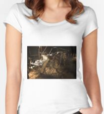 Horse Carriages 1 Women's Fitted Scoop T-Shirt