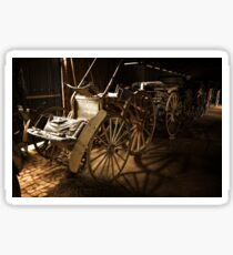 Horse Carriages 1 Sticker