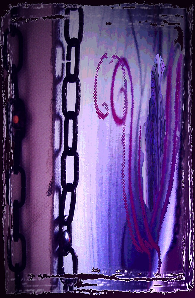 'And From My Soul Comes The Darkness' ~ Pore Space Inkling No 6 by ArtOfE