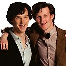 Sherlock and Eleven by drawingdream