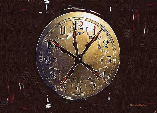 The Crucifixion of Time by RC deWinter