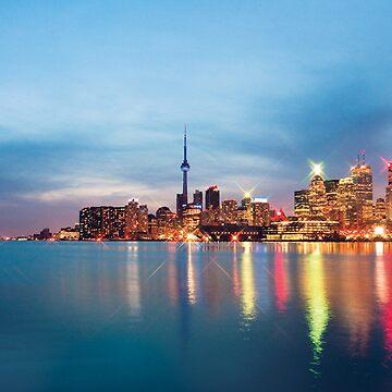 The docks, Toronto. by juicypixels