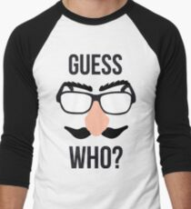 Guess Who? Men's Baseball ¾ T-Shirt