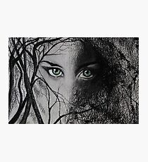 Mysterious Female Photographic Print