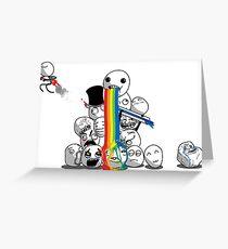 TROLLS Greeting Card