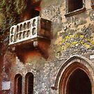 Verona - Juliet's balcony by Gilberte