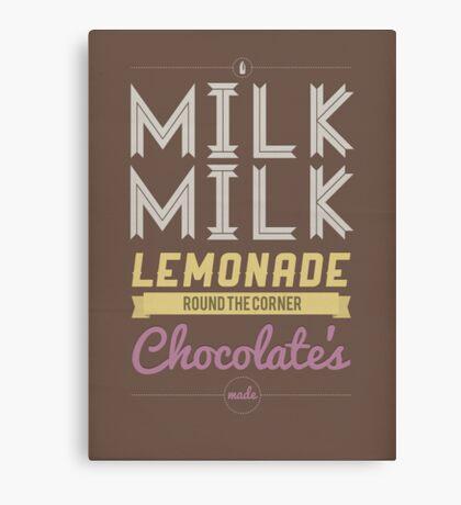 Milk, Milk, Lemonade.... Canvas Print